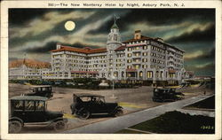 The New Monterey Hotel by Night