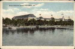 Royal Poinciana Hotel Postcard