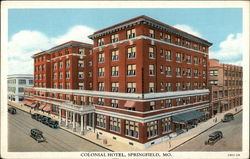 View of Colonial Hotel