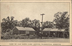 View of Oak Lawn Camp Ground