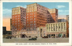 New Hotel Lowry, 4th and Wabasha Streets