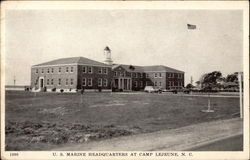 U.S. Marine Headquarters at Camp LeJeune
