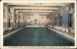 The Swimming Pool, the Park Central, 55th Street at Seventh Ave