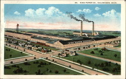 Aerial View of King Paper Co