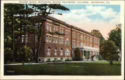 Edinboro State Teachers College - Haven Hall
