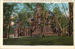Recitation and Normal Halls, Edinboro State Teachers' College