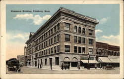 Commerce Building Postcard
