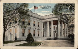 The White House, Side View