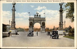 Soldiers and Sailors Arch, Entrance to Prospect Park
