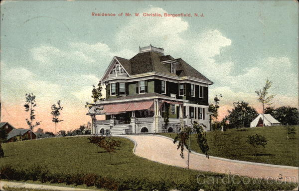 Residence of Mr. W. Christie Bergenfield New Jersey