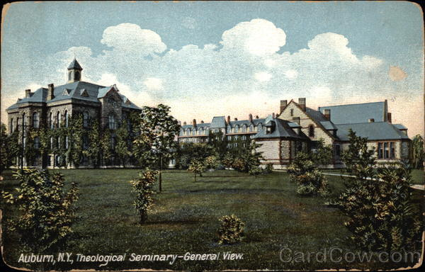 Theological Seminary, General View Auburn New York