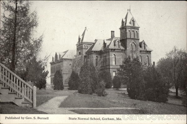 State Normal School Gorham Maine