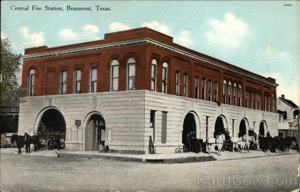 Central Fire Station Beaumont Texas