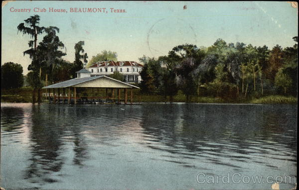 Country Club House Beaumont Texas