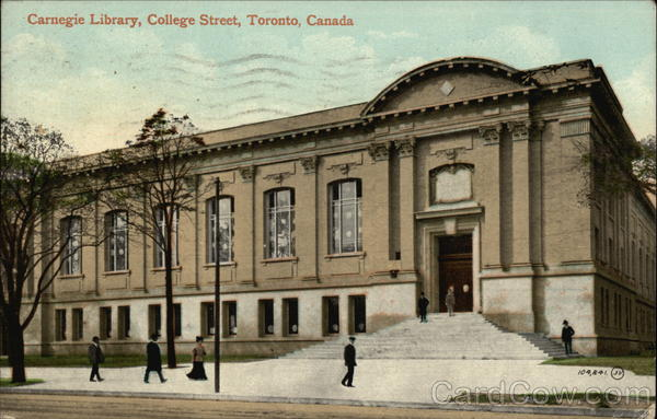 Carnegie Library, College Street Toronto Canada Ontario