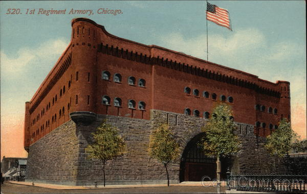 1st Regiment Armory Chicago Illinois
