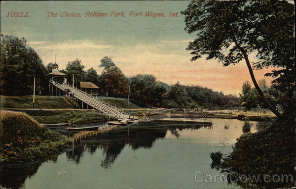 The Chutes, Robison Park Fort Wayne Indiana