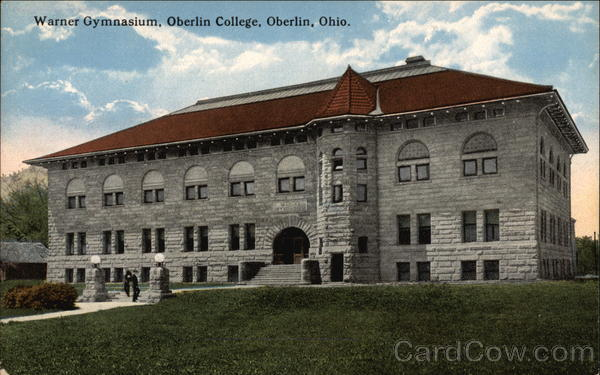 Warner Gymnasium, Oberlin College Ohio