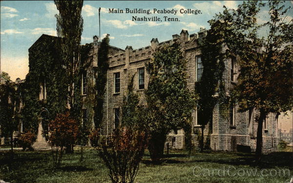 Main Building, Peabody College Nashville Tennessee