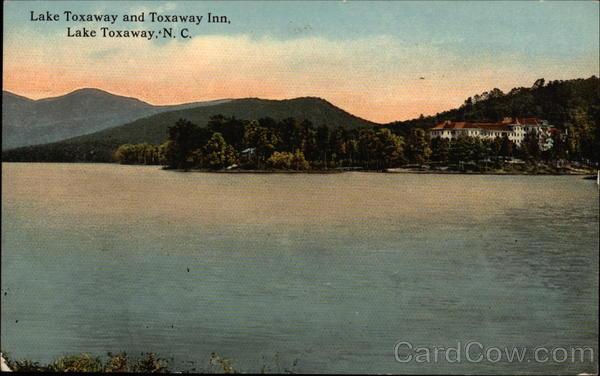View of Lake and Toxaway Inn Lake Toxaway North Carolina