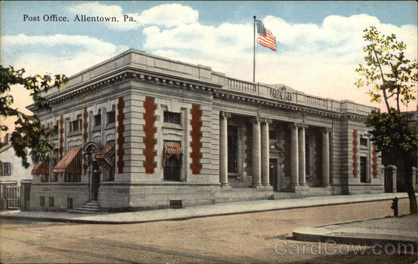 Post Office Allentown Pennsylvania