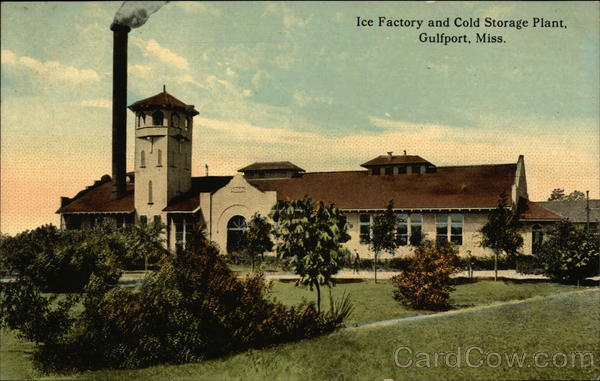 Ice Factory and Cold Storage Plant Gulfport Mississippi