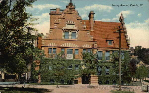 Irving School Peoria Illinois