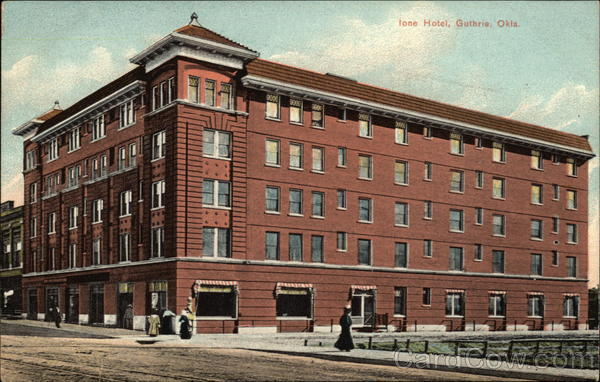 Ione Hotel Guthrie Oklahoma