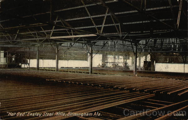 Hot Bed Ensley Steel Mills Birmingham Alabama