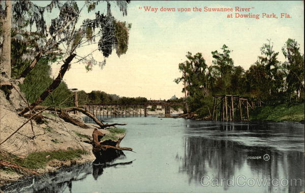 Way down upon the Suwannee River Dowling Park Florida