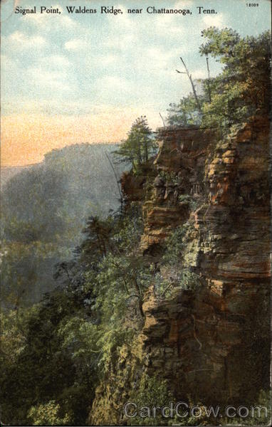 Signal Point, Waldens Ridge, near Chattanooga Tennessee
