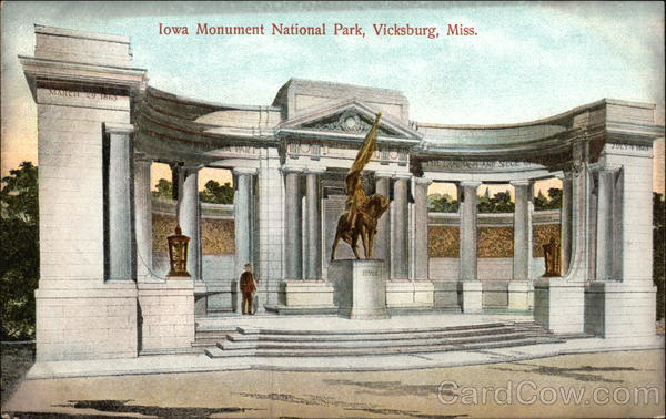Iowa Monument National Park Vicksburg Mississippi