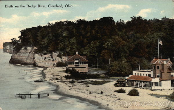 Bluffs on the Rocky River Cleveland Ohio