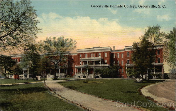 Greenville Female College South Carolina