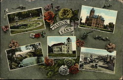 Various Views of the Town Postcard