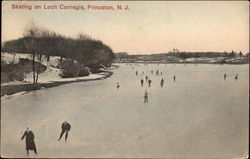 Skating on Loch Carnegie