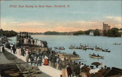 Boat Racing on Rock River