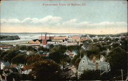 Panoramic View of Moline, Ill