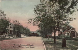 Franklin Avenue and Chapel, National Military Home