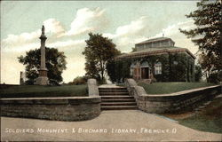 Soldier's Monument & Birchard Library