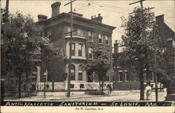 Anti-Narcotin Sanitarium Postcard