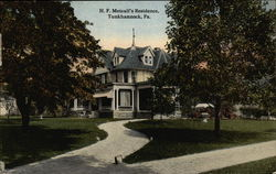 H.F. Metcalf's Residence