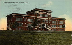 View of Presbyterian College Postcard