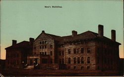 Men's Building, Oberlin College Postcard