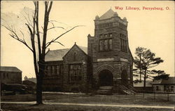 Way Library Postcard