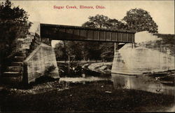 Sugar Creek and Bridge
