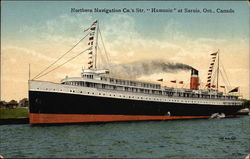 "Northern Navigation Co.'s Str. ""Hamonic"" at Sarnia"