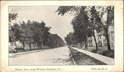 Home Ave., near Winsor