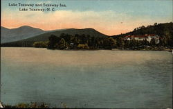 View of Lake and Toxaway Inn