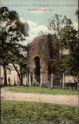 Ruins of Old Church (First English Church in America)